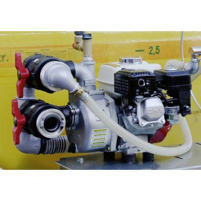 Bomba de motor con motor de gasolina