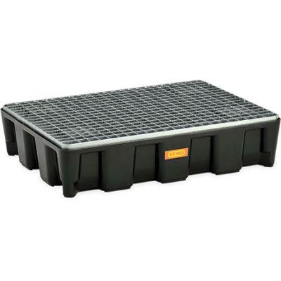 Sistema de protección de superficies de PE con homologación y rejilla de acero galvanizado
