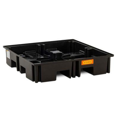 Cubeta colectora de PE para palé 120 × 120 cm, 220 l