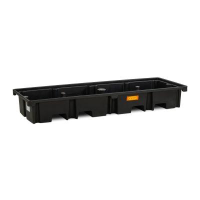 Cubeta colectora de PE para 2 palés 120 × 80, longitudinal, 425 l