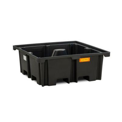 Cubeta colectora de PE para palé 120 × 120cm, 400 l