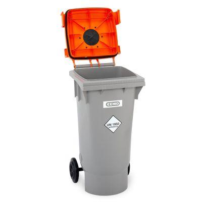 Depósito colector para botes de aerosol