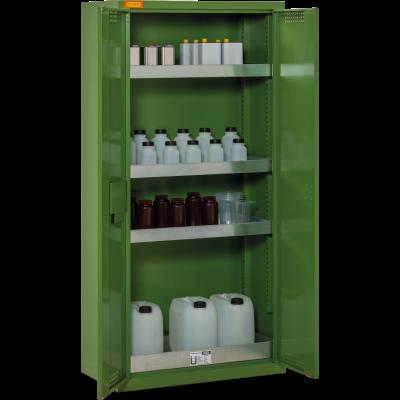 Armarios para guardar productos fitosanitarios