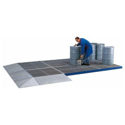 Rampas de acceso para sistemas de protección de superficies de acero