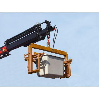 Asa de carga para contenedores de gravilla, fijo, no abatible