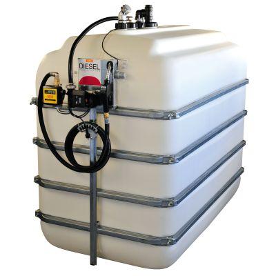 Estaciones completas de diésel y PE/GRP 5000 l