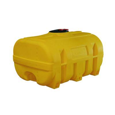 Bidones de PE con forma de baúl, amarillo